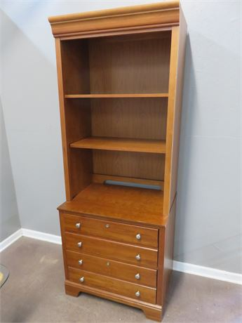 STANLEY Lateral File Cabinet with Hutch