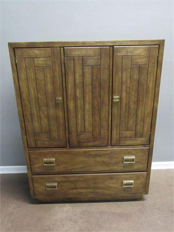 Vintage Drexel Heritage Woodbriar Collection Gentleman's Chest
