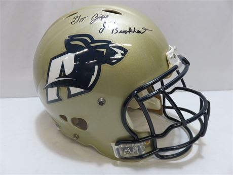 Authentic Akron Zips Riddell Football Helmet (Signed)