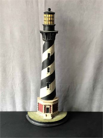 Cast Iron Lighthouse Door Stop