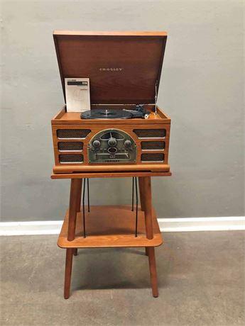 Crosley Radio with Stand