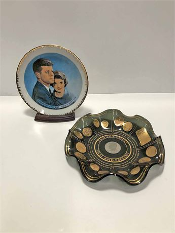 JFK & Women's Federal Collector's Plates