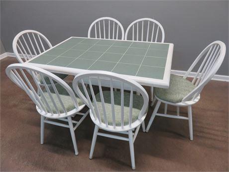 Tile Top Dinette Set