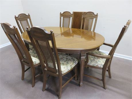 Fruitwood Dining Table Set