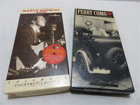 Marty Robbins & Perry Como CD Box Sets