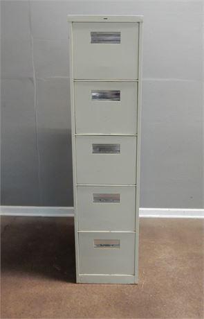 Large Metal Filing Cabinet