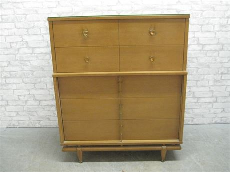 VINTAGE MID CENTURY KENT-COFFEY - THE SEQUENCE - 5 DRAWER CHEST