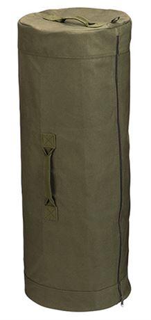 ROTHCO Military Canvas Duffle Bag w/Side Zipper
