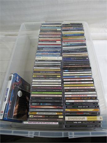 Large CD Lot - 100+