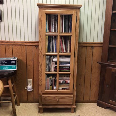 Glass Front Book Case