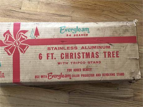 Mid Century Aluminum Christmas Tree