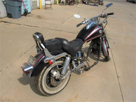 1991 Kawasaki Vulcan Eighty-Eight Motorcycle - For Parts - with Title