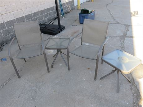 Aluminum Patio Tables & Chairs