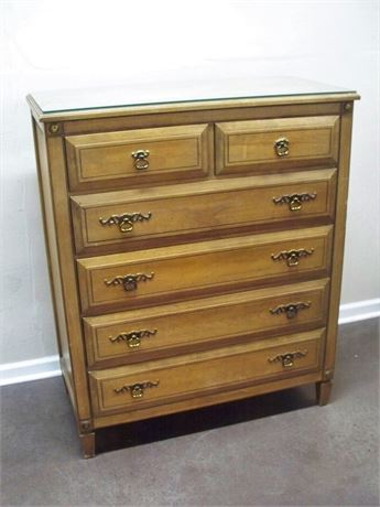 VINTAGE RWAY FURNITURE CHEST OF DRAWERS