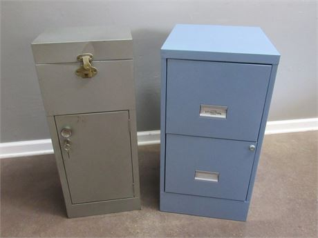 2 Office File/Storage Cabinets
