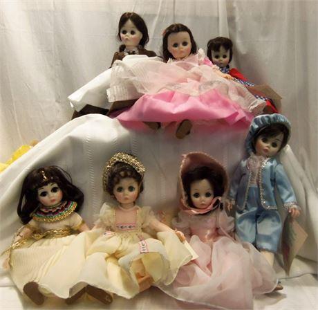 Madame Alexander Dolls Little Women Blue Boy Pinkie Cleopatra Josephine