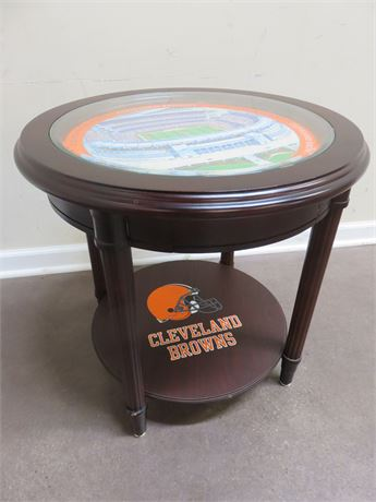 CLEVELAND BROWNS End Table