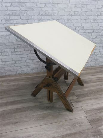 Vintage Small Hamilton Drafting Table