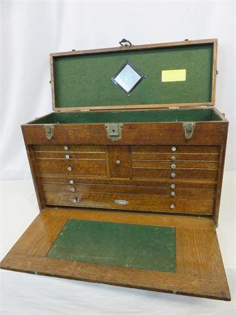 Vintage Gerstner & Sons 11-Drawer Machinist Tool Chest