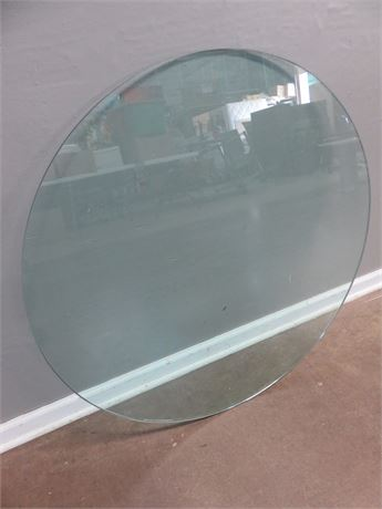 36-inch Round Glass Table Top