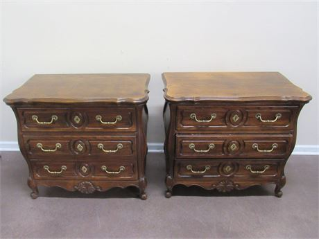 2 HICKORY MANUFACTURING NIGHTSTANDS