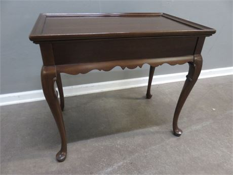 Queen Anne Cherry End Table