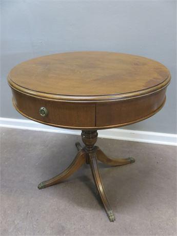 Vintage GIBBARD Drum Table