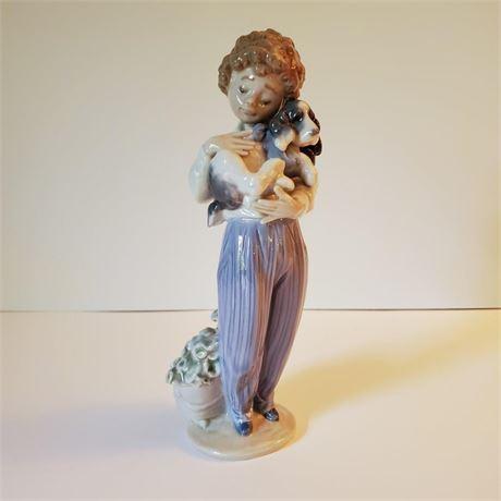 "Lladro Figurine ""My Buddy"" #7609"