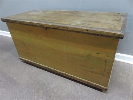 Wooden Storage Trunk