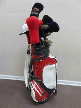 NEC World Series of Golf - Firestone Country Club Bag with Clubs