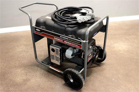 5500 Watt Storm Responder Generator and extension cord