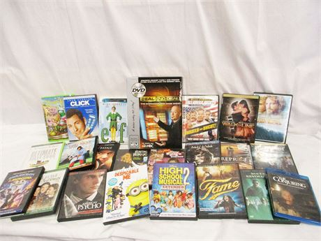 LOT OF MORE THAN 20 DVDS
