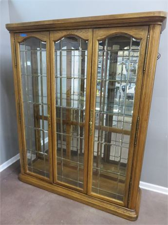 AMERICAN OF MARTINSVILLE Lighted Display Cabinet