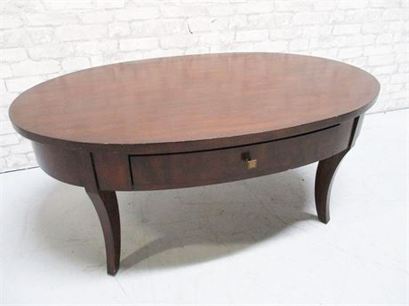 ARHAUS OVAL COFFEE TABLE