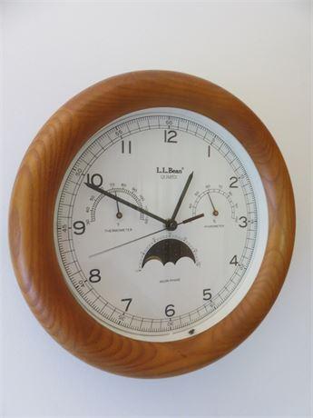 L.L. BEAN Wall Clock
