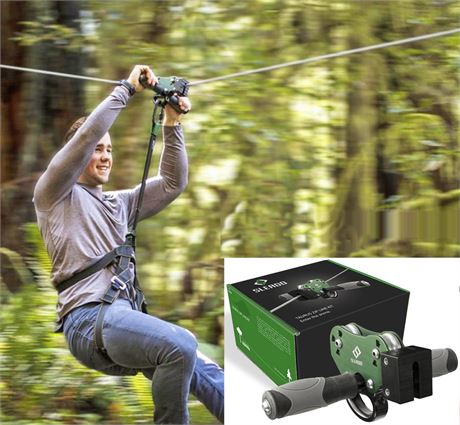NEW! SLEADD Taurus Zip Line Kit