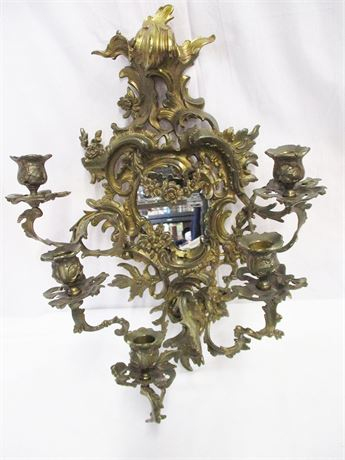 VINTAGE CANDLE SCONCE